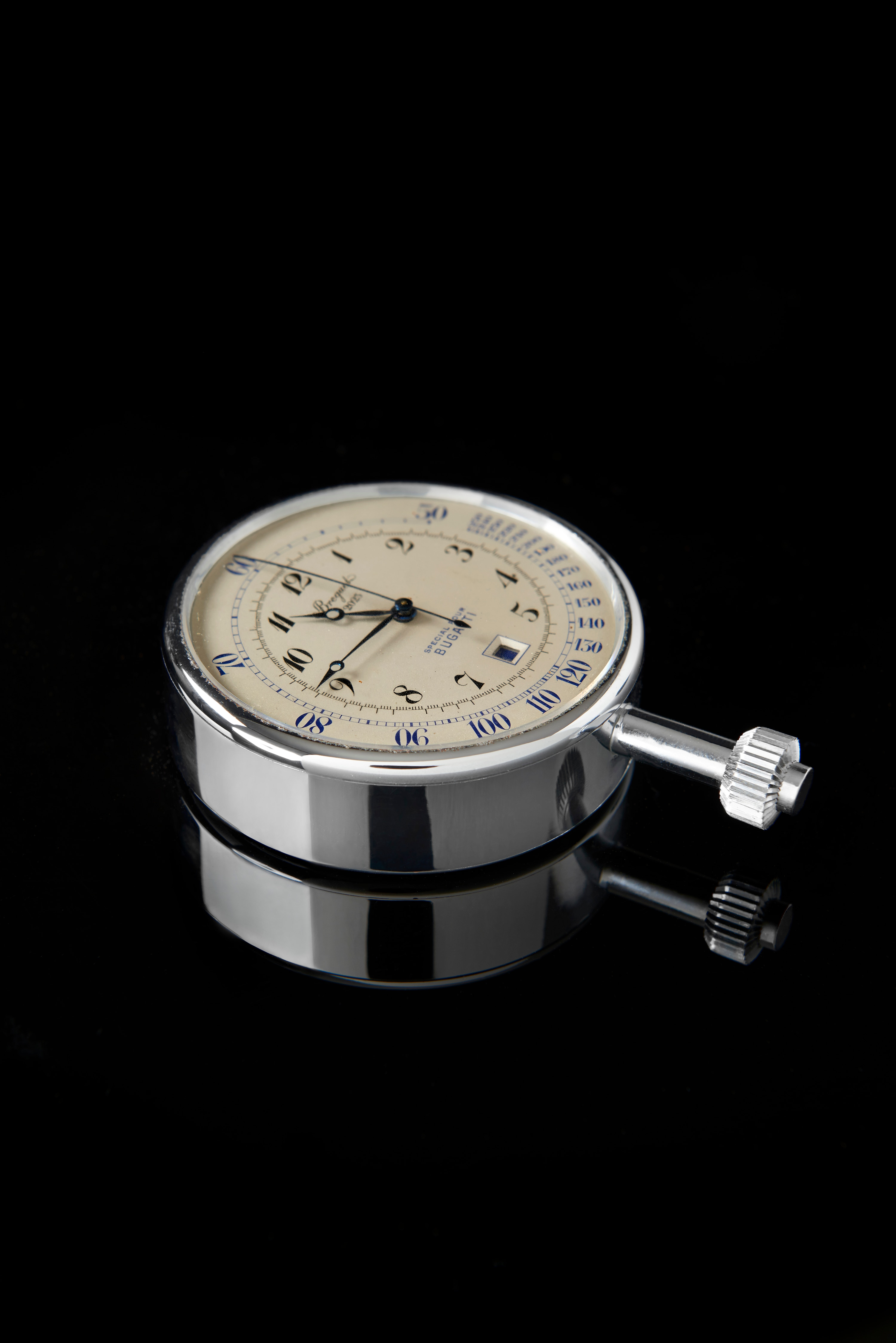 Chronograph with a tachymeter function