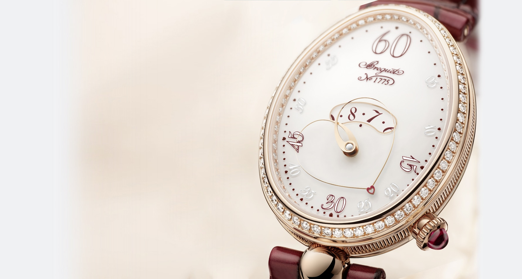 The House of Breguet Welcomes an Original Creation: Reine de Naples Cœur