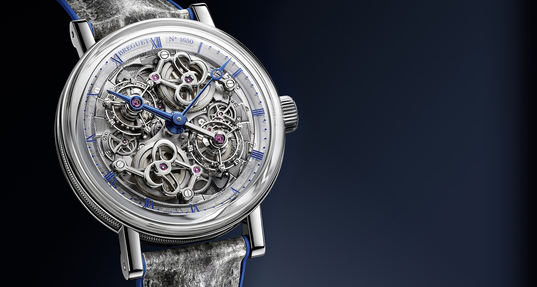 Mechanical virtuosity with aesthetic mastery: Breguet presents its new Double Tourbillon