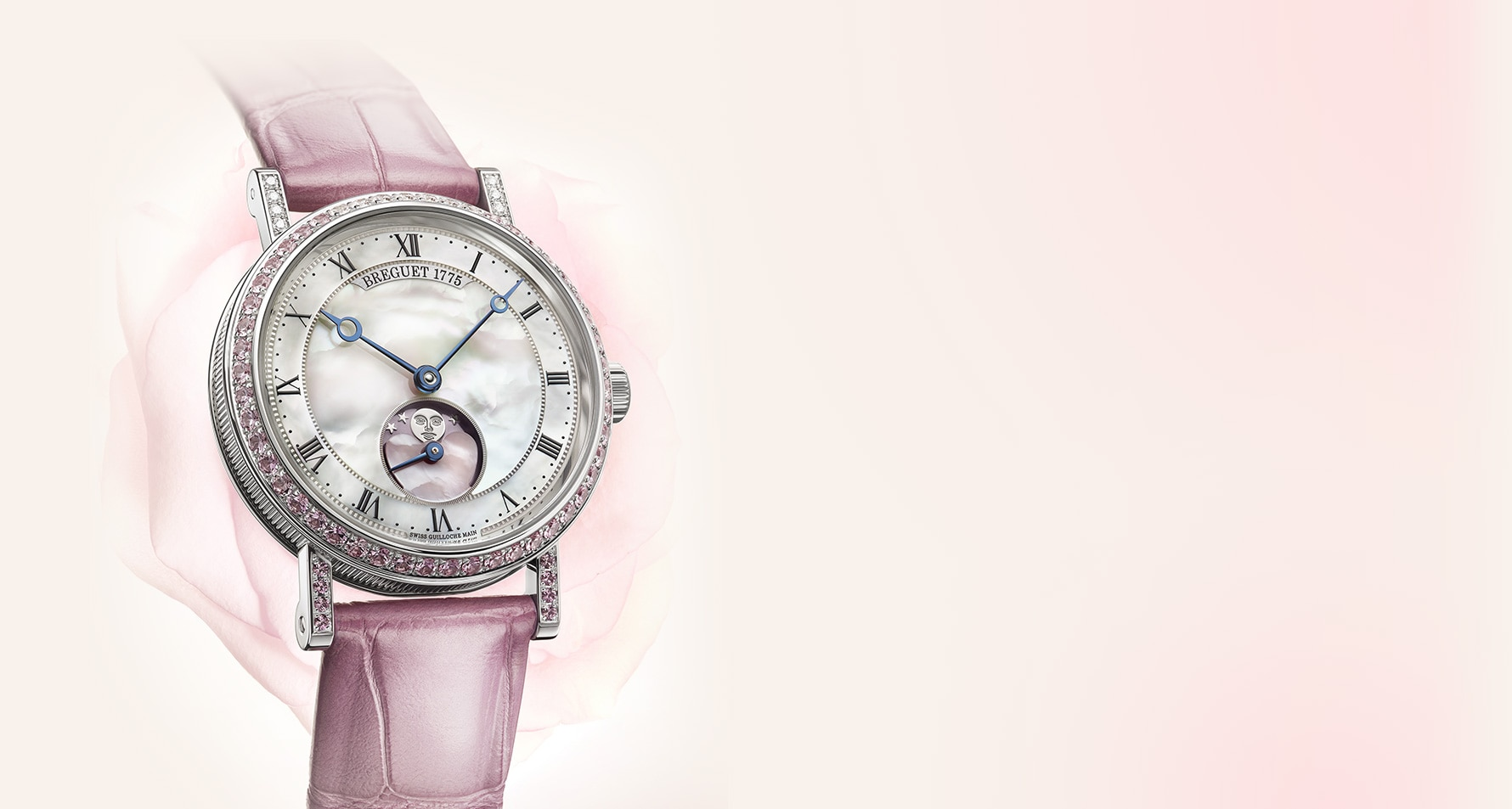 A limited edition Breguet Classique for Valentine's Day