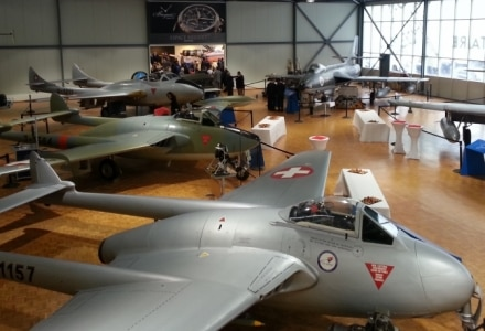 "Swiss Museum of Military Aviation Inaugurates a ""Breguet Area"" in Payerne"