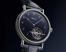 Breguet Unveils the Blue Version of its Classique Tourbillon Extra-Plat Automatique