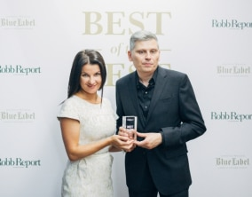 "The Marine Équation Marchante Named ""Best of the Best"" by Robb Report Russia"