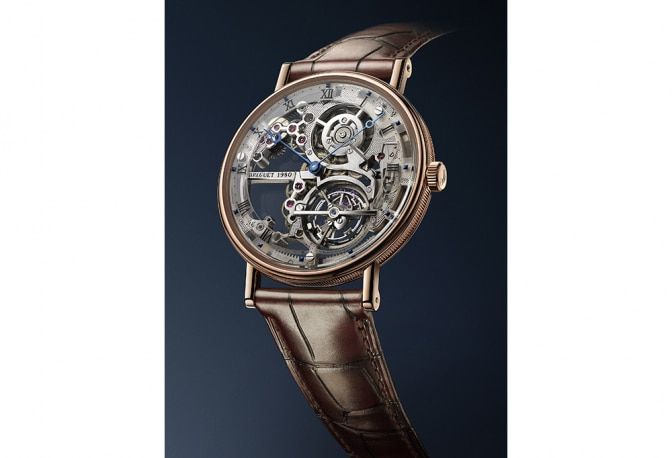 Breguet's Tourbillon Extra-Plat Squelette Awarded in Italy