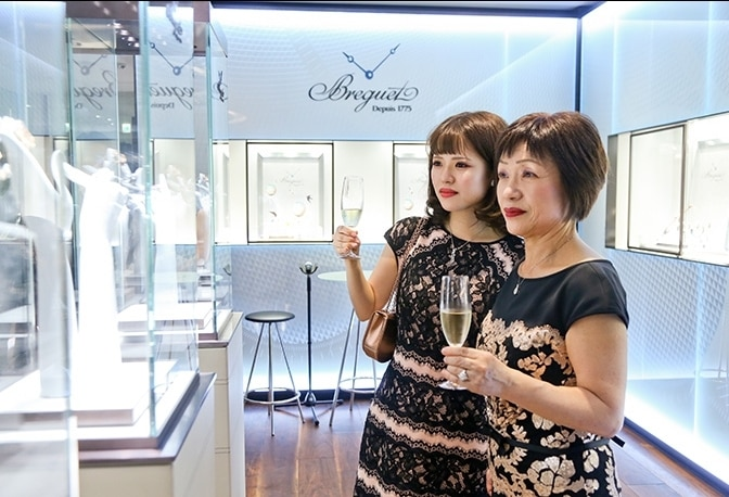 Ode to Femininity at the Breguet Boutique in Ginza