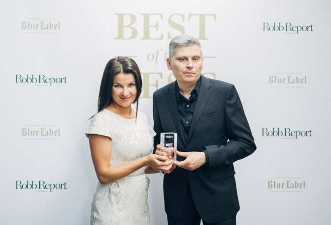 """The Marine Équation Marchante Named """"Best of the Best"""" by Robb Report Russia"""