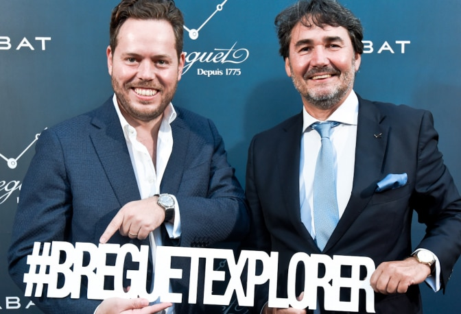 Exclusive Evening around Breguet's Marine of Race for Water in Spain