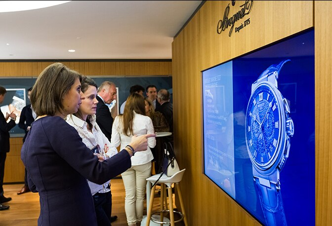 Breguet celebrates the Marine collection in Paris