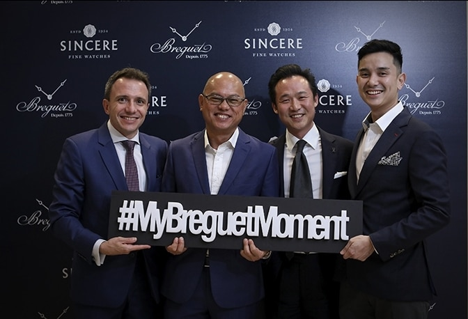 "Breguet's ""Classic Tour"" Makes its First Stop in Southeast Asia"