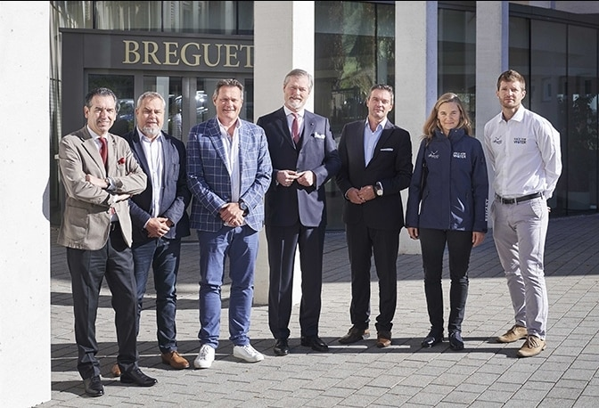 MARCO SIMEONI, RACE FOR WATER FOUNDER AND PRESIDENT,  VISITS THE BREGUET MANUFACTURE