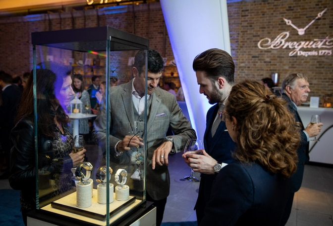 Spotlight on Breguet's Marine collection in London