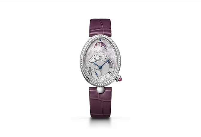 Breguet's Reinde de Naples: pink mother-of-pearl and diamonds for Valentine's Day
