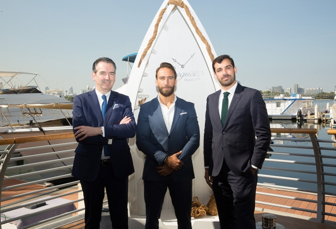 A Day of Festivities for the Marine of Breguet in Dubai
