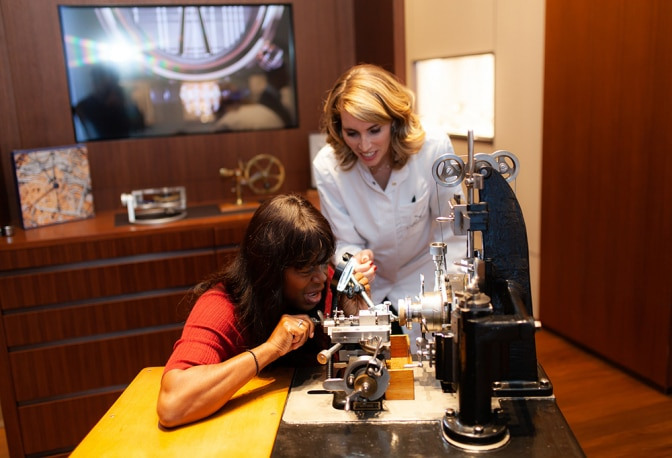 Festivities at the Fifth Avenue Breguet Boutique