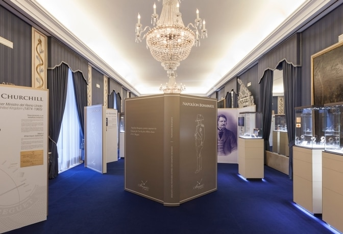 A Royal Opening for Breguet's Traveling Exhibition in Madrid