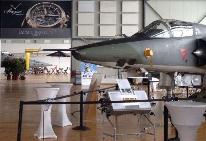 Breguet Supports the Military Aviation Museum in Payerne (Switzerland)
